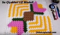 Su Çiçekleri Lif Modeli 1
