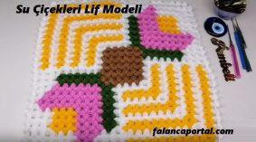 Su Çiçekleri Lif Modeli