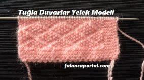 Tuğla Duvarlar Yelek Modeli