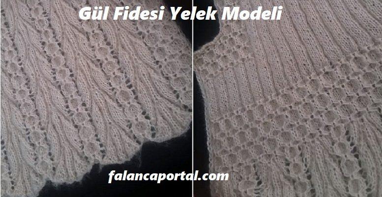 Gül Fidesi Yelek Modeli 1