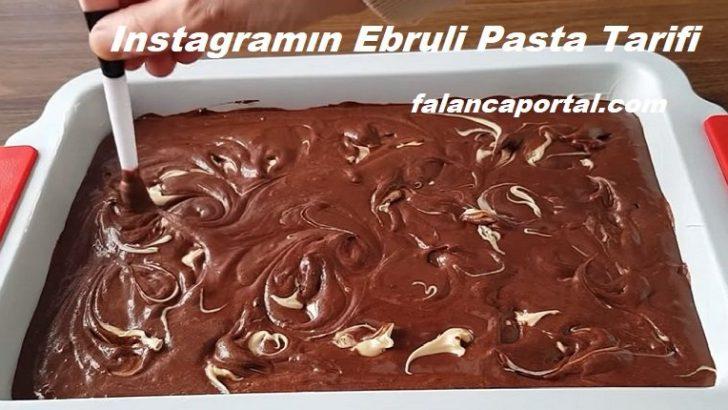 Instagramın Ebruli Pasta Tarifi