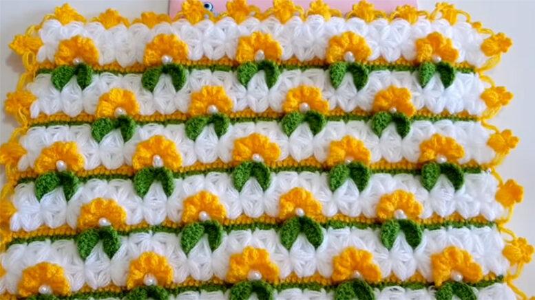 Kanola Çiçekleri Lif Modeli