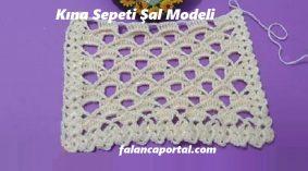 Kına Sepeti Şal Modeli