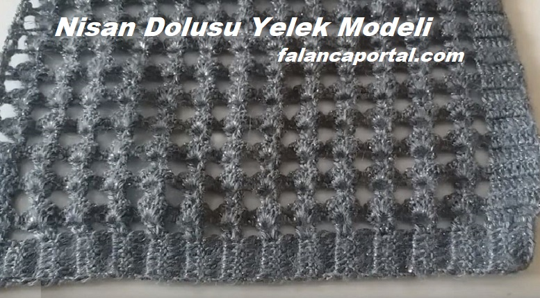 Nisan Dolusu Yelek Modeli