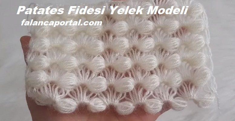 Patates Fidesi Yelek Modeli 1