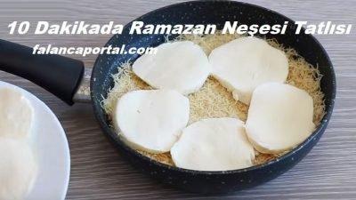 10 Dakikada Ramazan Neşesi Tatlısı