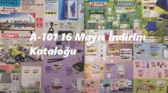 A-101 16 Mayıs İndirim Kataloğu 1