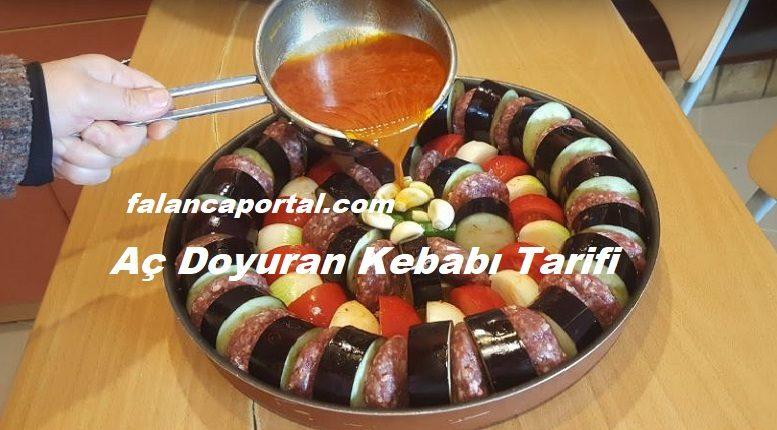 Aç Doyuran Patlıcan Kebabı Tarifi