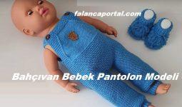 Bahçıvan Bebek Pantolon Modeli 1