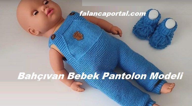 Bahçıvan Bebek Pantolon Modeli