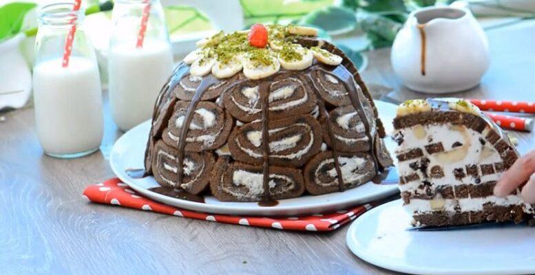 Hazır Kekten Yaz Pastası Tarifi 1