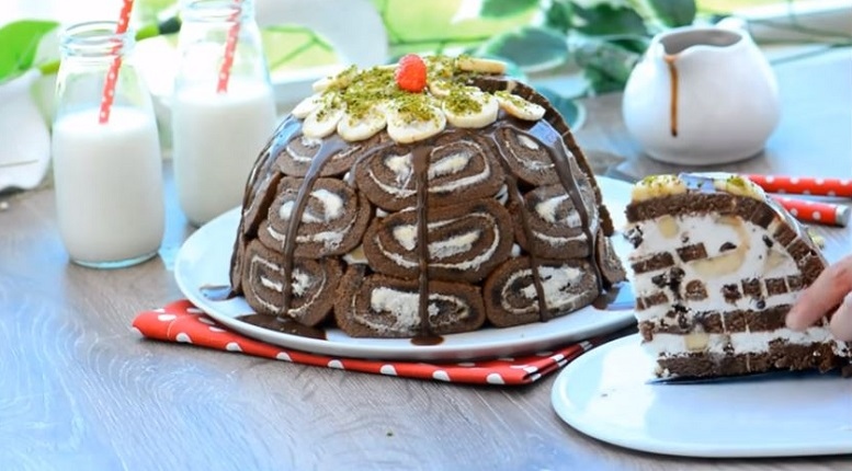 Hazır Kekten Yaz Pastası Tarifi