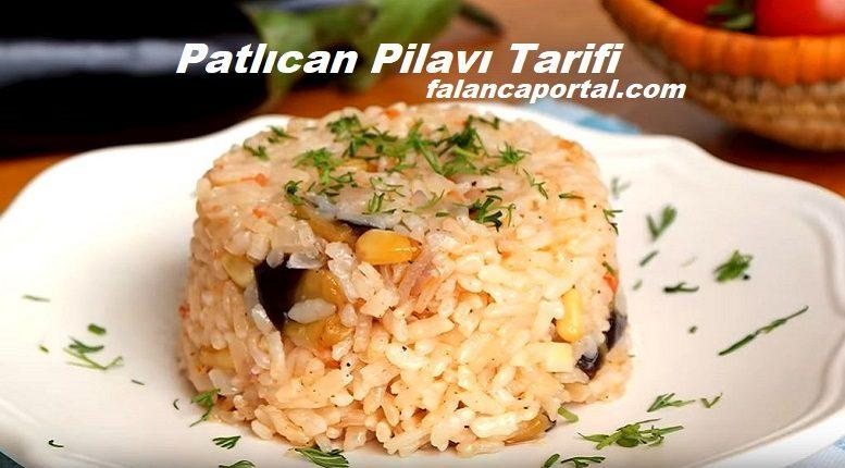 Patlıcan Pilavı Tarifi