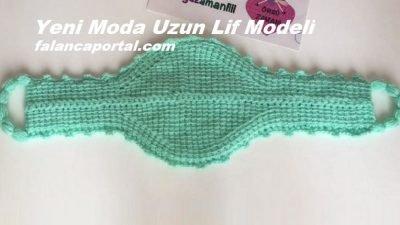 Yeni Moda Uzun Lif Modeli