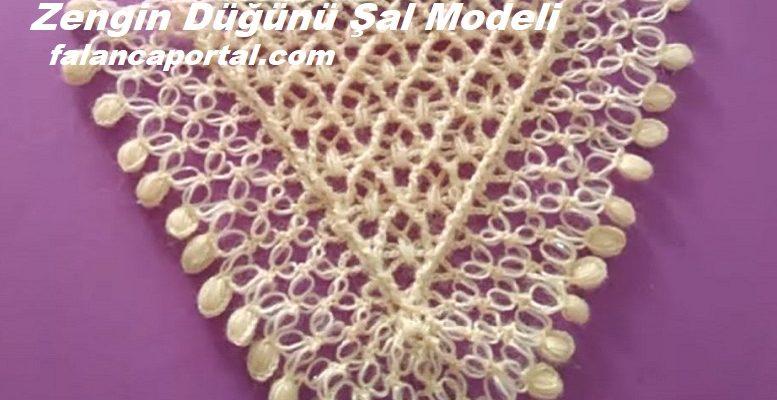 Zengin Düğünü Şal Modeli 1