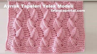 Ayrılık Tepeleri Yelek Modeli