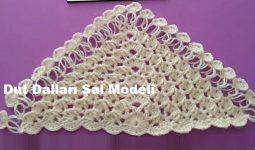 Dut Dalları Şal Modeli 1