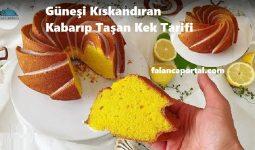 Güneşi Kıskandıran Kabarıp Taşan Kek Tarifi 1