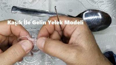 Kaşık İle Gelin Yelek Modeli