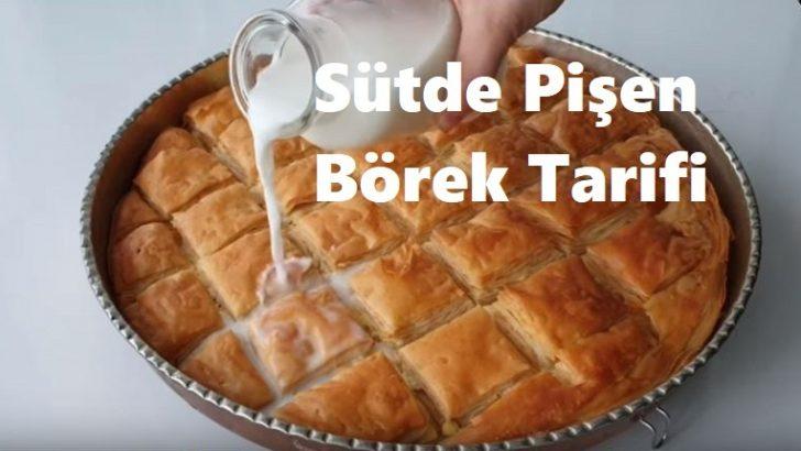Sütte Pişen Börek Tarifi