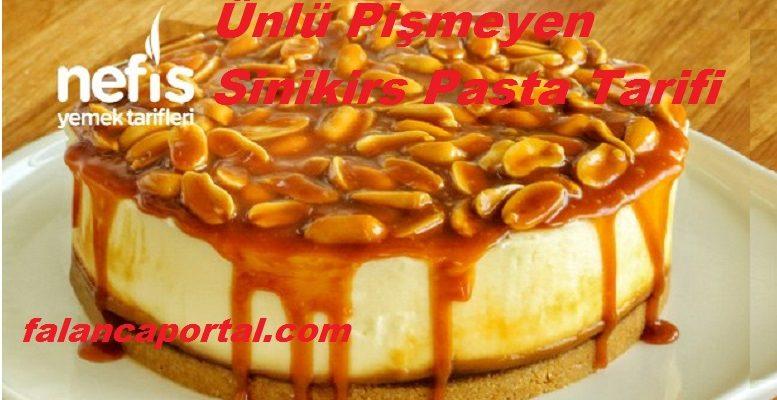 Ünlü Pişmeyen Sinikirs Pasta Tarifi 1
