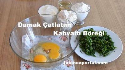 Damak Çatlatan Kahvaltı Böreği