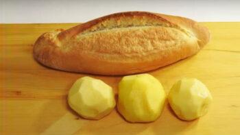 Bayat Ekmekten Kapış Kapış Bitecek Börek Tarifi