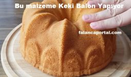 Bu Malzeme Keki Balon Yapıyor 1
