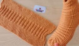 Kolay Bayan Çorap Patik Modeli 1