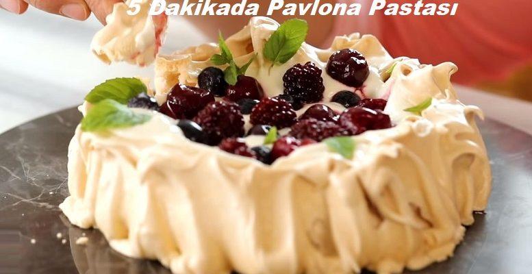 5 Dakikada Pavlova Pastası 1