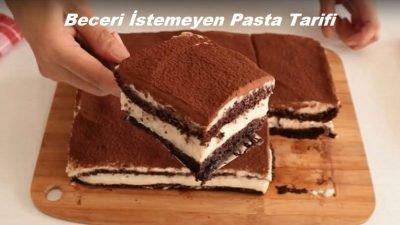 Beceri İstemeyen Pasta Tarifi