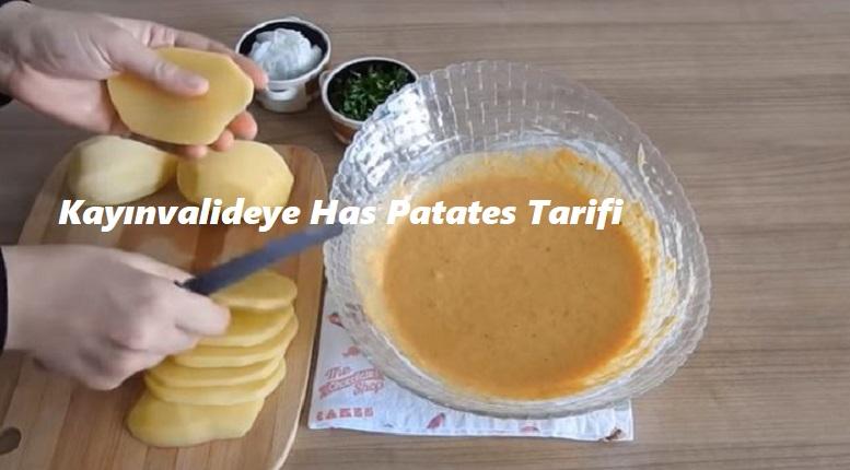 Kayınvalideye Has Patates Tarifi