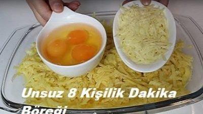 Unsuz 8 Kişilik Dakika Böreği