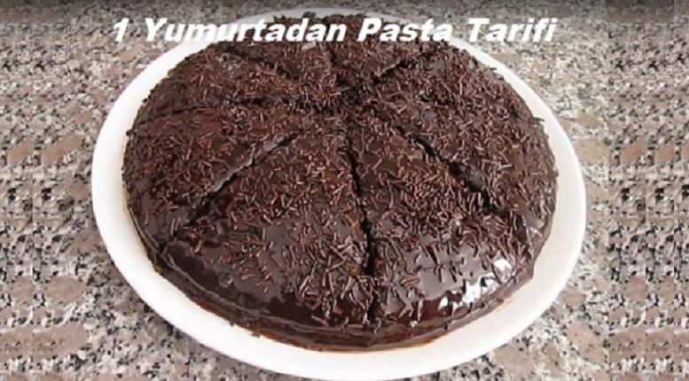 1 Yumurtadan Pasta Tarifi