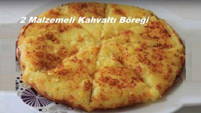 2 Malzemeli Kahvaltı Böreği