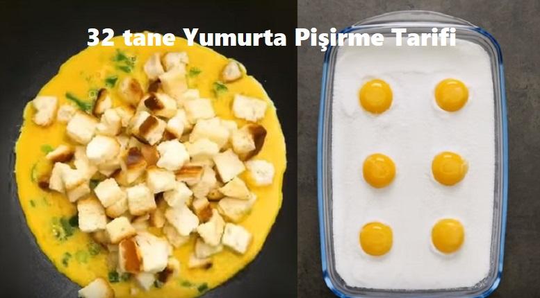 32 Farklı Yumurta Pişirme Tarifi