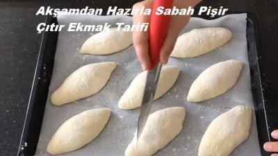 Akşamdan Hazırla Sabah Pişir Çıtır Ekmek Tarifi
