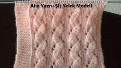 Alın Yazısı Şiş Yelek Modeli