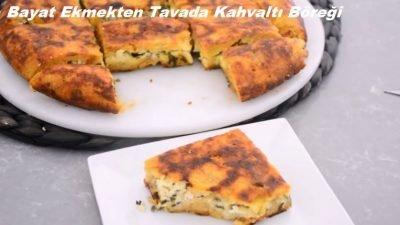 Bayat Ekmekten Tavada Kahvaltı Böreği