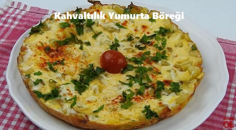 Kahvaltılık Yumurta Böreği