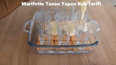 Marifette Tavan Yapan Kek Tarifi