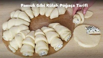 Pamuk Gibi Külah Poğaça Tarifi