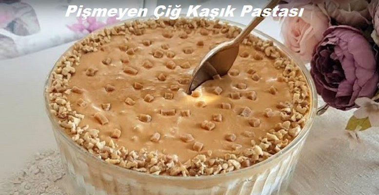 Pişmeyen Çiğ Kaşık Pastası 1