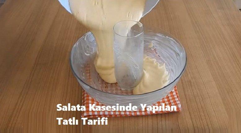 Salata Kasesinde Yapılan Tatlı Tarifi