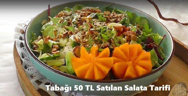 Tabağı 50 TL Satılan Salata Tarifi 1