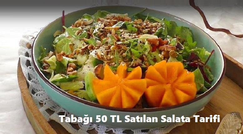 Tabağı 50 TL Satılan Salata Tarifi