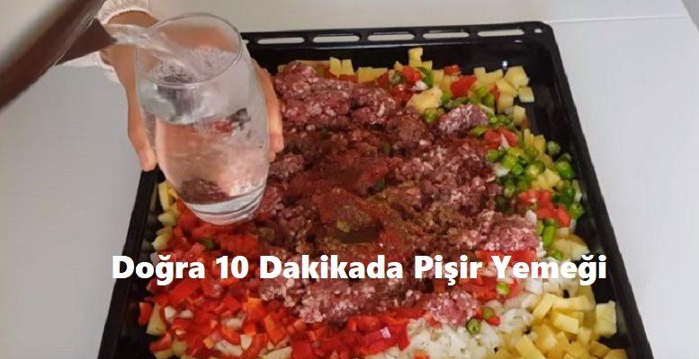 Doğra 10 Dakikada Pişir Yemeği 1