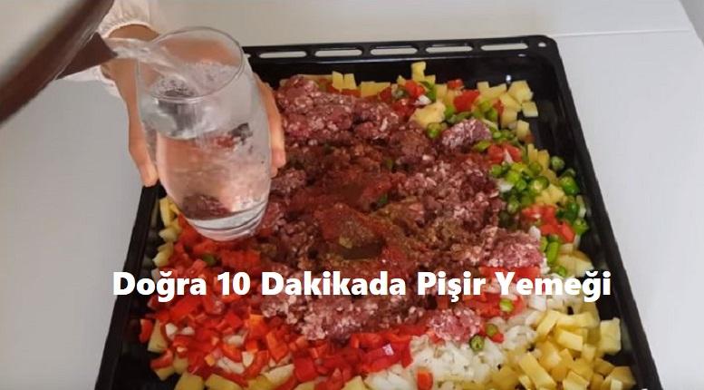 Doğra 10 Dakikada Pişir Yemeği