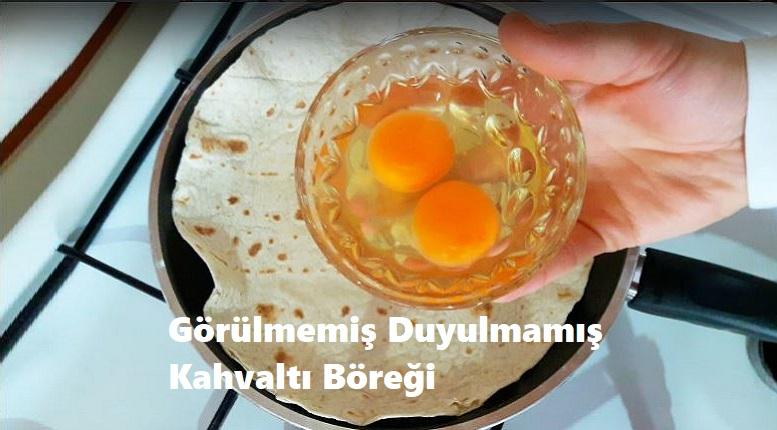 Görülmemiş Duyulmamış Kahvaltı Böreği
