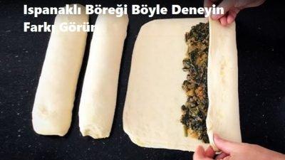 Ispanaklı Böreği Böyle Deneyin Farkı Görün